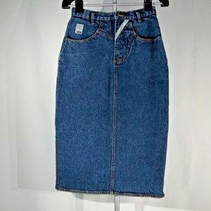 Denim Women's strait skirt size 10